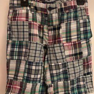 Boys plaid shorts 10 never Worn